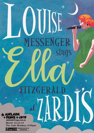 Ella at Zardi's Artwork by Karen De Nardi