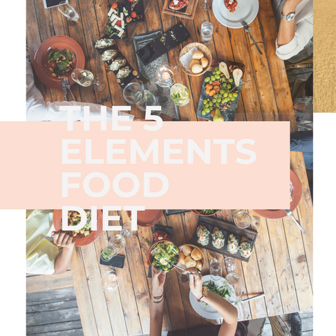 The 5 Elements Food Diet