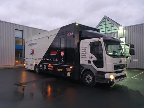 Camion assistance et de vie Team2B MORACO