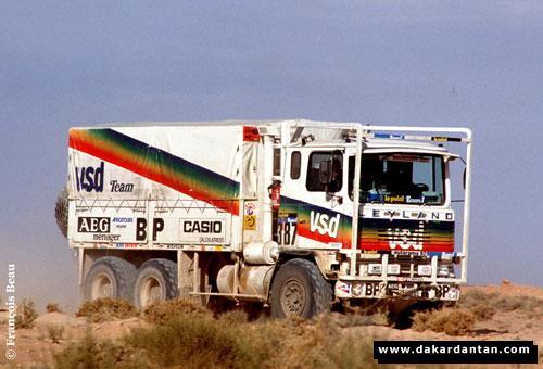 Véhicule du Dakar