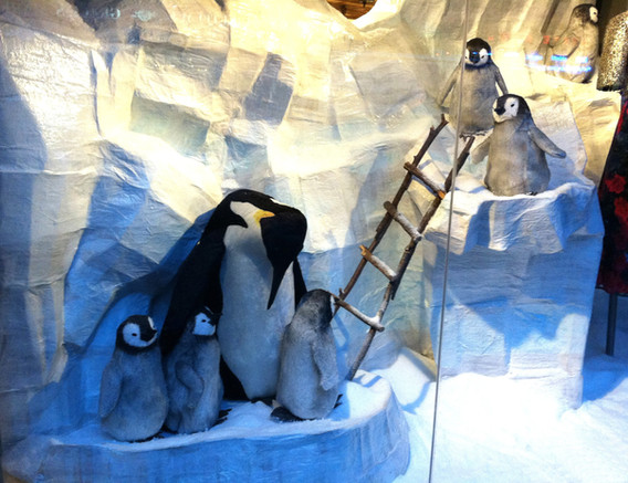 Anthropologie Penguins