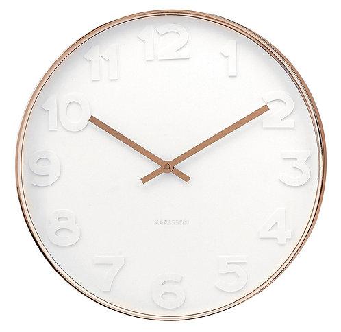 Karlsson 'Mr White' Wall Clock - large
