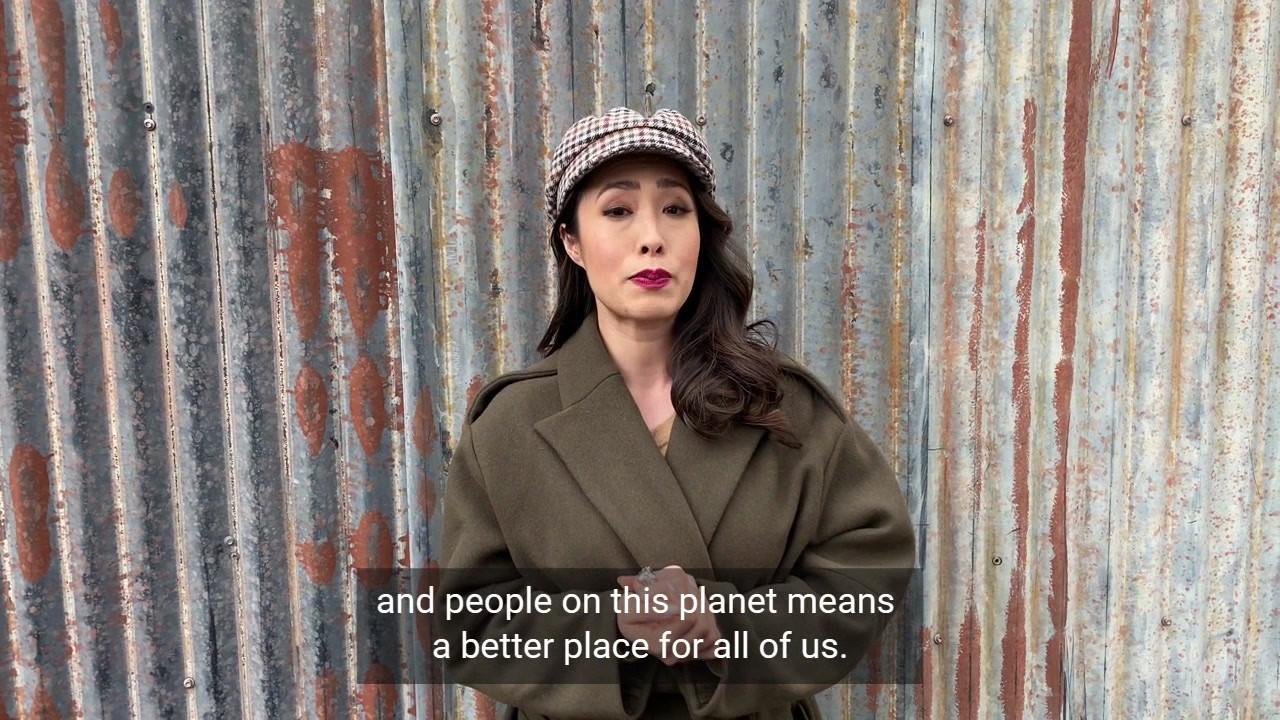 Melissa Leong Celebrity Pledge