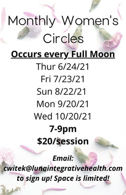 Monthly Women's Circles (6)