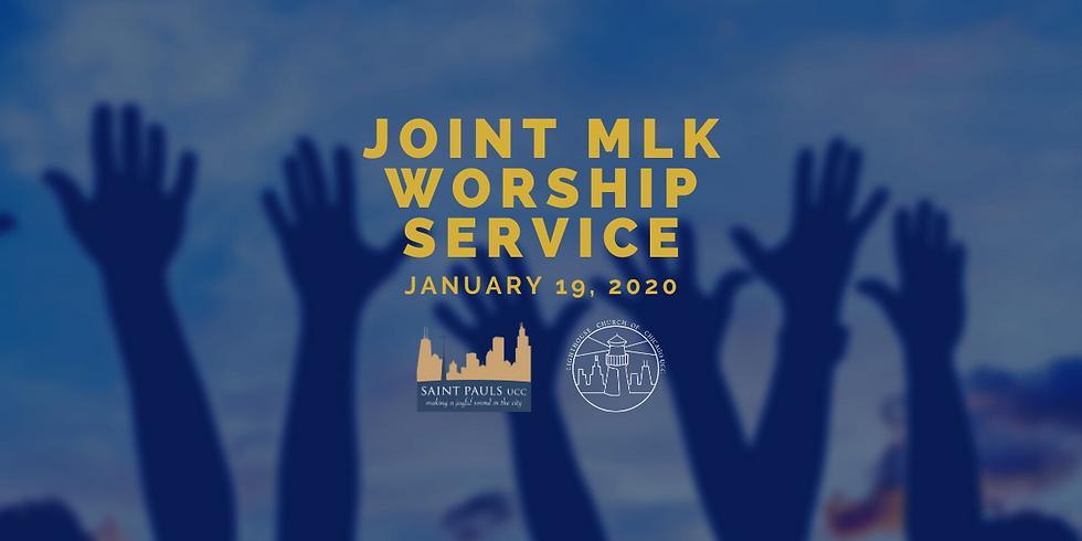 Joint MLK Worship with St. Pauls UCC