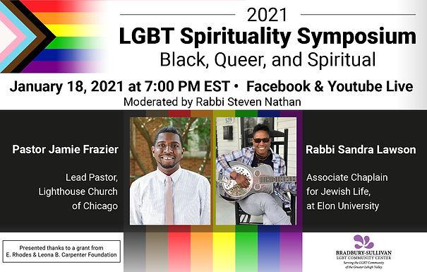 Bradbury-Sullivan marks MLK Jr. Day with virtual Spirituality Symposium