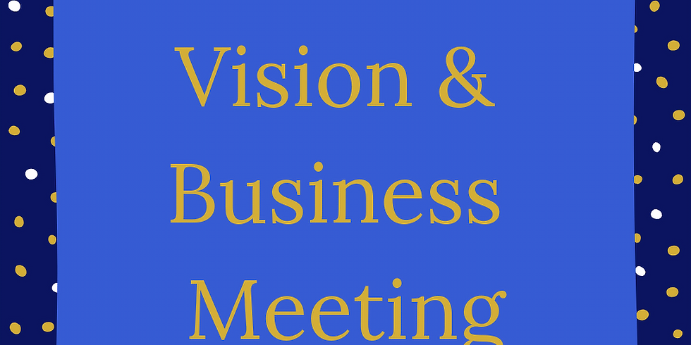 Mid-Year Business & Vision Congregational Meeting