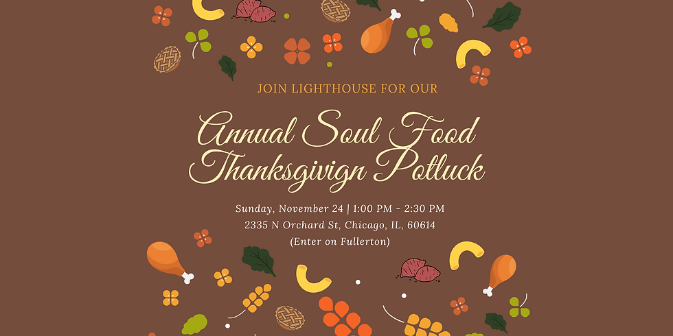 Annual Soul Food Thanksgiving Potluck