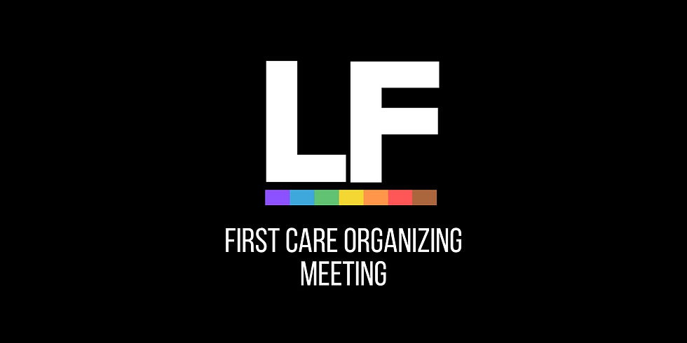 First CARE Organizing Meeting