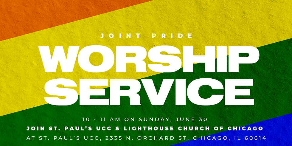 Joint Pride Worship Service