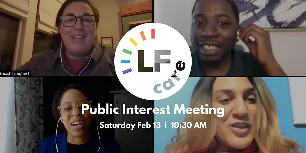 CARE Public Interest Meeting