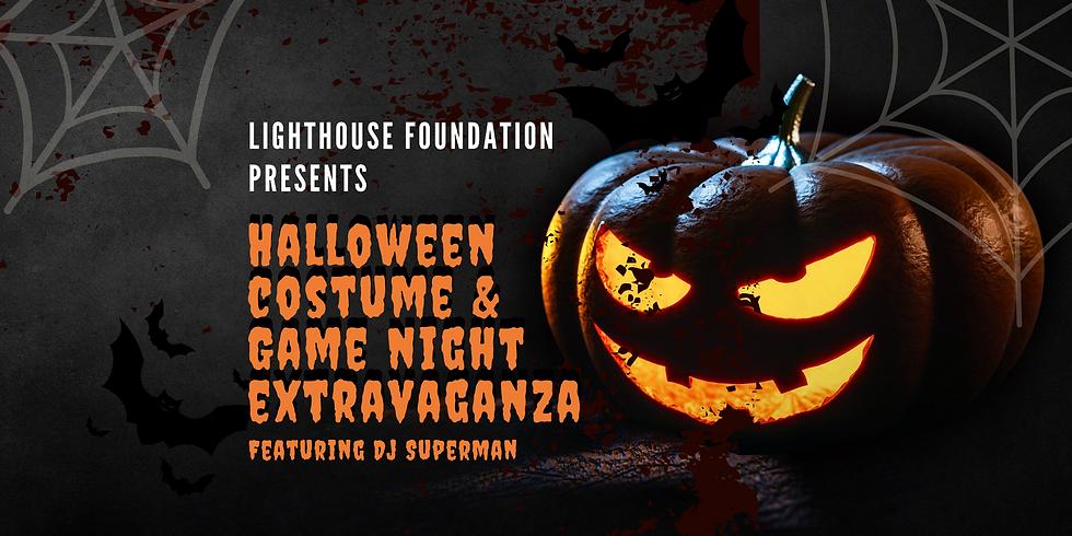 Halloween Costume & Masquerade Game Night Extravaganza