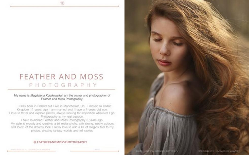 Publication in Lemonade Kids Magazine