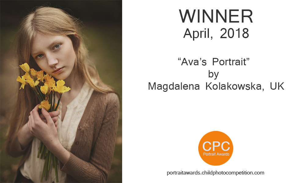 Child Photo Competition Monthly Awards - April 2018 winner