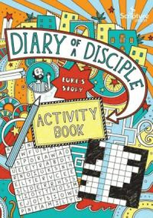 Diary of a Disciple Activity Book ~ Gemma Willis