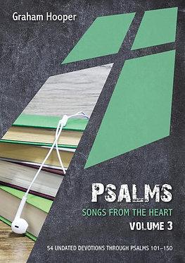 Psalms: Songs from the Heart Volume 3~ Graham Hooper
