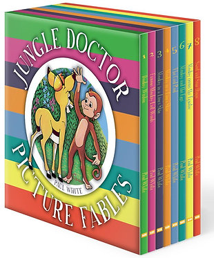 Jungle Doctor Picture Fables Box Set ~ Paul White