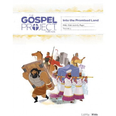 Gospel Project: Older Kids Activity Pages, Into the Promised Land