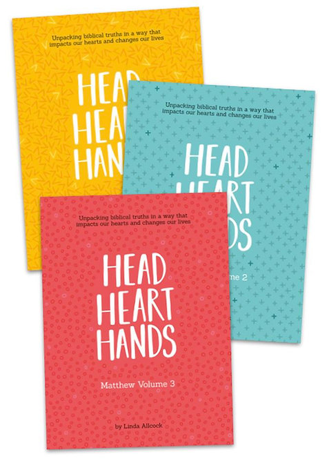 Head Heart Hands Vols 1-3 ~ Linda Allcock