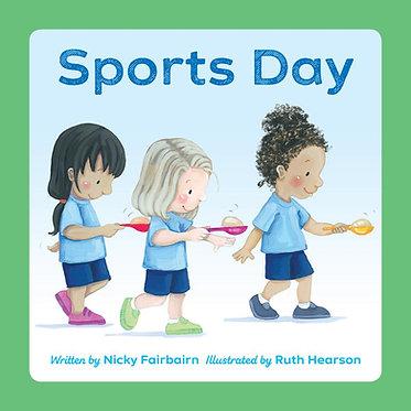 Sports Day ~ Nicola Fairbairn, Ruth Hearson