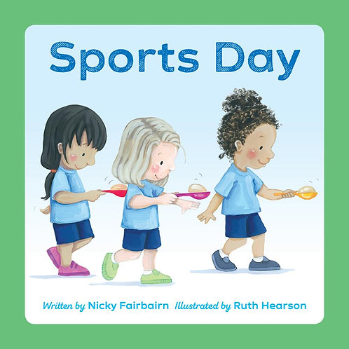 Sports Day ~ Nicola Fairbairn, Ruth Hearson