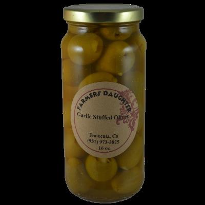 Garlic Stuffed Green Olives