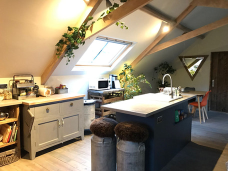 Beautifully handcrafted kitchen
