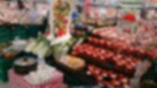 ㈱蓮のホームページトップ画像。売り場設営の例。