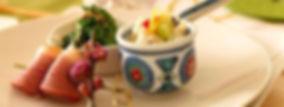 ㈱蓮のホームページトップ画像。メニュー開発。