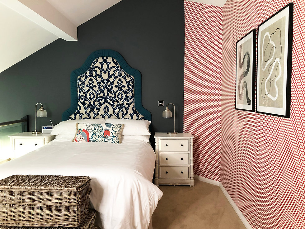 Master bedroom holiday home interior des