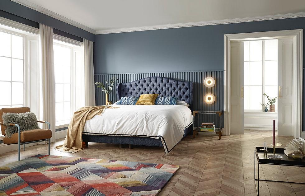Colourful interior design, ribble valley
