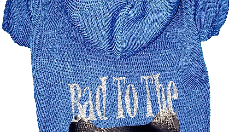 Glitter Bad To The Bone Sweatshirt