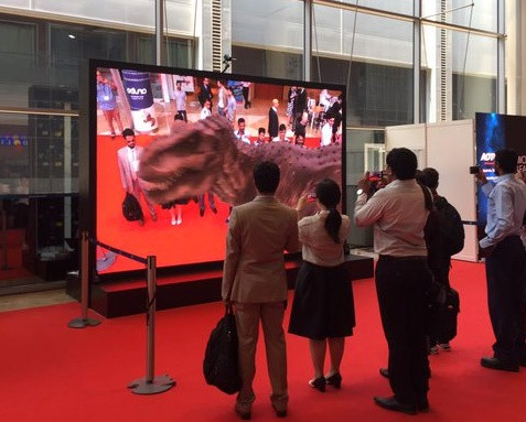 Augmented Reality Showcase at Dubai World Trade Centre