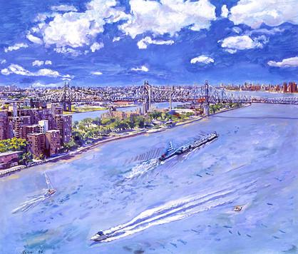 East River Queensboro Bridge