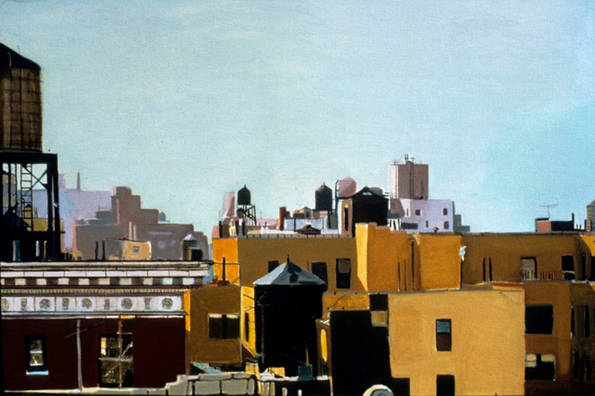 Rooftops I Oil on Canvas 29 x 43.jpg
