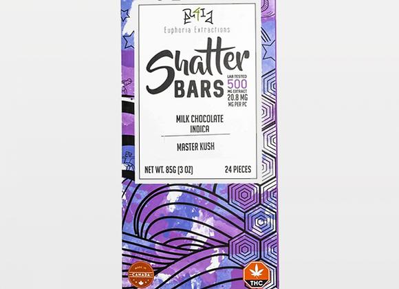 Milk Chocolate Indica Shatter Bar