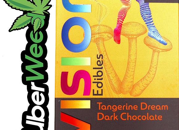 🍄Vision Edibles Chocolate Shrooms Bar🍫2500mg Psilocybin-Tangerine Dream
