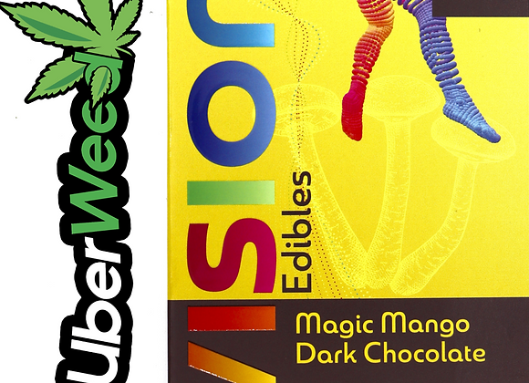 🍄Vision Edibles Chocolate Shrooms Bar🍫2500mg Psilocybin-Magic Mango