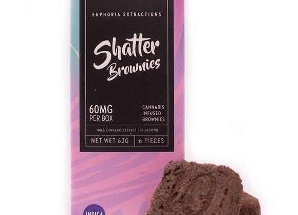Indica Shatter Brownies 60mg