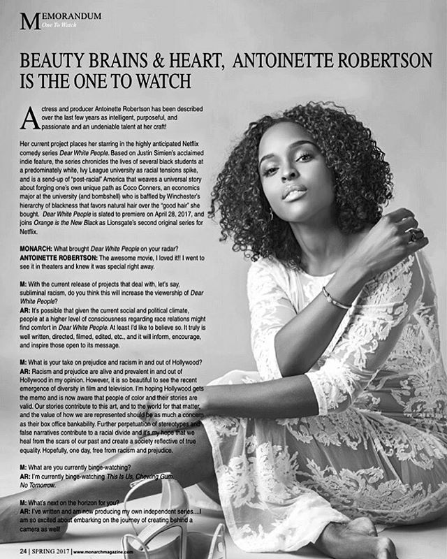 Thank you _monarchmagazine For my #memorandum feature _Our stories (people of color) contribute to t