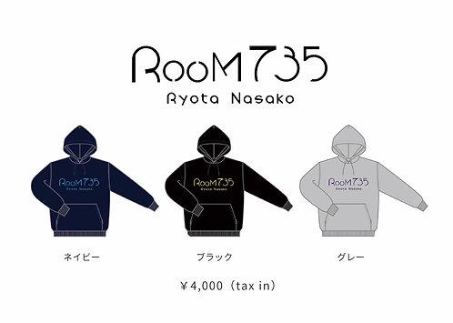「Room735」パーカー