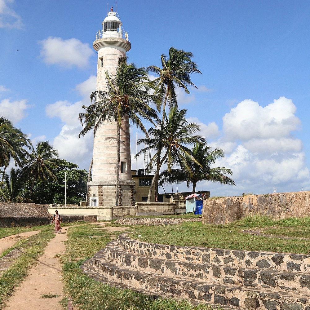 Galle Fort Lighthouse, Sri Lanka. nrm insurance