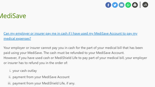 Who pay first? Medisave or Employee medical insurance