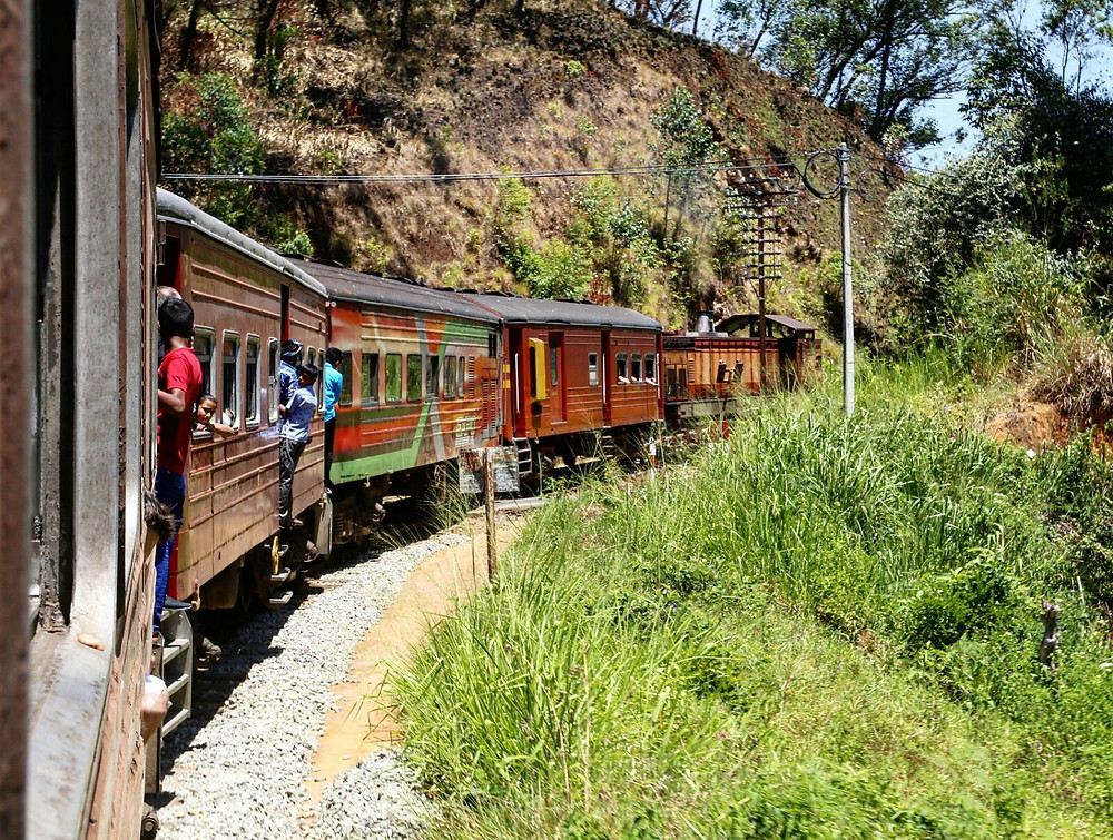 7 hours beautiful scenic train ride from Ella to Kandy. through Sri Lanka's many tea plantation and absolute lush greenery. nrm insurance