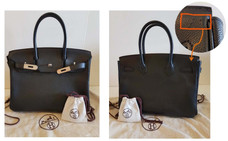 Insurance company paid $25000 claim settlement for Hermes Birkin 30