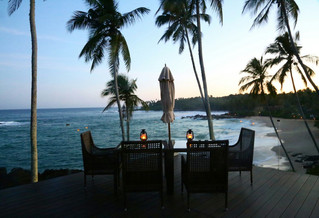 Fancy a dinner with a view of paradise?