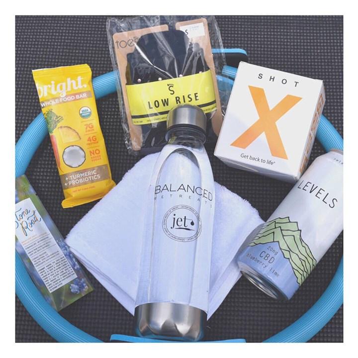 Jet Sweat Dept x Balanced Retreats Sponsors