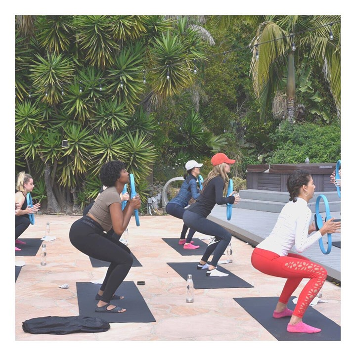 Jet Sweat Dept x Balanced Retreats Pilates