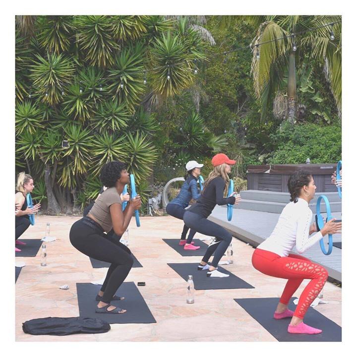 Jet Sweat Dept x Balanced Retreats Pilates