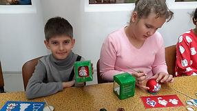 Мастер-класс по росписи елочных игрушек